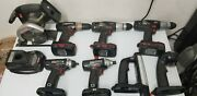 Assorted Craftsman Lithium Ion 19.2v Cordless Power Tools