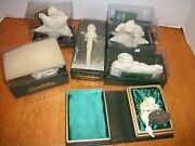Dept 56 Snowbabies Ornaments Set Of 6 I Love You , My First Star , Star Bright