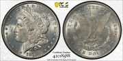 1878 7tf Reverse Of 1878 Morgan Silver Dollar Pcgs Ms63 Mint State 63andnbsp