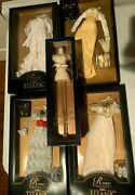 Franklin Mint Titanic Rose Doll Trunk Safe Mannequin 12 Outfits Jewelry