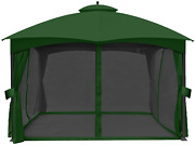 Abccanopy Universal 10and039 X 12and039 Gazebo Replacement Mosquito Netting Walls Green
