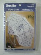 Bucilla Special Edition Stamped Lap Quilt Wall Hanging 63347 Rhapsody In Blue