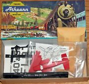 Athearn 1355 40 Ft Flat Car Kit With Plane Nickel Plate Road Nkp 2659