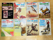 Vintage 1970 1971 1972 Garcia Hunting Shooting Outdoor Sports Library Lot Of 8