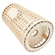 1pc Woven Candleholder Natural Candlestick Wind Lamp Wind Light For Hotel