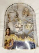Disney Beauty And The Beast Figurines Castle Friends Collection New
