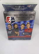Nwsl 2021 Official Trading Cards Premier Edition Hanger Box ⚽️ Women's Soccer ⚽️