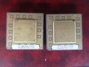 2x Hp Vintage Ceramic Cpu For Gold Scrap Recovery Rare