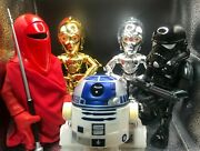 Medicom Star Wars Collectible Doll Vcd Set Limited Edition Japanese Ver