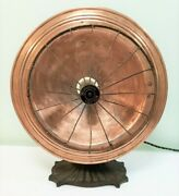 Vintage Antique 1900and039s Westinghouse Cozy Glow Cj-3 Electric Radiant Heater