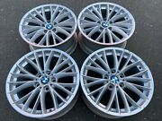 Stunning Set Of Genuine Bmw Style 342 18x8/5/8 Rims In Good Used Condition