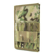 Tactical Notebook Covers Spartan Army Greenbook Cover - Multicam Velcro Version