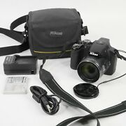 Nikon Coolpix P510 Digital Camera W/ Case, Charger, 3 Batteries. Tested Works