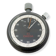 .vintage Omega Manual Wind Stop Watch Made In Switzerland Cal 9000a