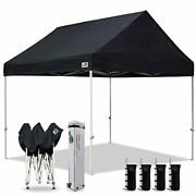 Eurmax Patented 10x10 Pop Up Canopy Tent Party Tent Commercial Instant Canopies