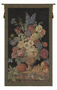 Floral Bouquet Thoughts 2 Italian Wall Art Tapestry Wall Hanging