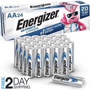 Energizer Aa Lithium Batteries, World's Longest Lasting Double A Battery, 24