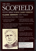 The Old Scofield Study Bible King James Version Classic Edition 1917 Notes