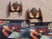 Lego 7111 Star Wars Droid Fighter - Set Of 2 Complete W/instructions - 2 Droids