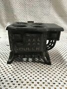 Queen Miniature Toy Cast Iron Stove Salesman's Sample For Parts
