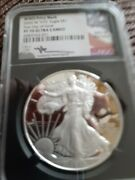 First Day Of Issue John Mercanti Signed Silver Eagle 2020 Wwii Pf70 Ultra Cameo