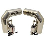 Chaparral Boat Exhaust Diverters | Kandb Performance 4 Inch Set Of 2