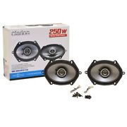 Clarion Boat Coaxial Speakers Srg5721c   Music Peak Power 250w Pair