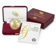 In Hand American Eagle 2021 One Ounce Gold Proof Coin 21eb 1oz 1 Oz Free 2 Day