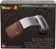 Bandai Dragon Ball Super Scouter Collection Electronic Red Scouter Usa Seller