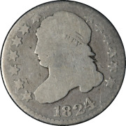 1824/2 Bust Dime Great Deals From The Executive Coin Company