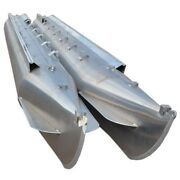 Custom 21 Ft X 25 In Pontoon Boat Float Log Tube W/out Fins Pair-like New 0438