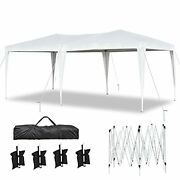 10'x20' Pop Up Canopy Tents Heavy Duty 10x20ft Ez Up Canopy Outdoor 1020 Ft