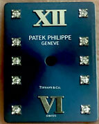 Patek Philippe And Co Blue Diamond Dial For Patek 24 Authentic