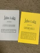 🔥 John Luka Books- A Flipper Coin Routine And Chromospheres -card And Coin Magic
