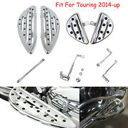 Chrome Front Rear Floorboard Shift Lever Linkage Fit For Harley Touring 2014-up