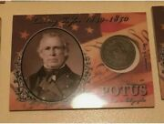 2018 Historic Autographs Potus Zachary Taylor Coin Card Looking To Buy Read