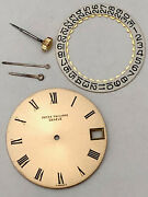 Patek Philippe Calatrava 750 Gold Dial With Hands Crown Date Wheel Authentic