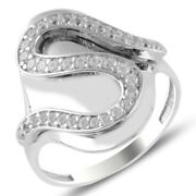 New Model Natural Zircon Stone 925 Sterling Silver Ladies Ring 0152