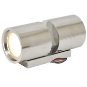 Quick Lighting Boat Fixed Wall Light Tb Twins 4+4w   Carver Led 10-30v