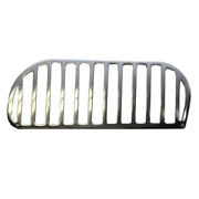 Tiara Boat Vent Grille 5323390   11 1/4 X 4 1/4 Inch Stainless Port