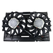 Engine Cooling Fan Assembly For 2011-2013 Audi A4 A6 A7 A8 Q5 3.0 4.0 4h0121207c