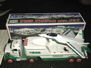 Hess Toy Truck And Jet Lights And Sounds New Boxed 2010 Collectible