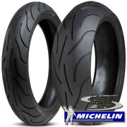 Michelin Pilot Power 2ct 190/50zr17 And 120/70zr17 Set Combo Pair Sportbike Tires