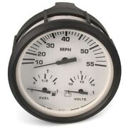 Faria Boat Oversized Multifunction Gauge Gsc027-1   4 1/4 Inch Euro