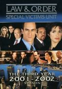 Law And Order Special Victims Unit - Third Year New Dvd
