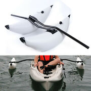 2 Pvc Kayak Canoe Boat Fishing Inflatable Outrigger Stabilizer Systems White Us