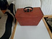 Freiberger Marine Drum Sextant Made In Germany Trommel-sextant Used.