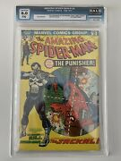 The Amazing Spider-man 129 First Appearance Of The Punisher Halo Graded 6.0 Cgc