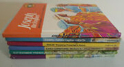 Childrens Bible Stories Bible Learn Series Lot Of 6 Books 1970s Hc Books