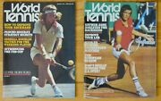 Vintage World Tennis Magazine August September 1976 Lot Of 2 Issues